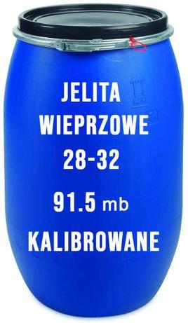 Jelita Wieprzowe 28-32mm 91.5m KALIBROWANE 150 p. dostawa GRATIS