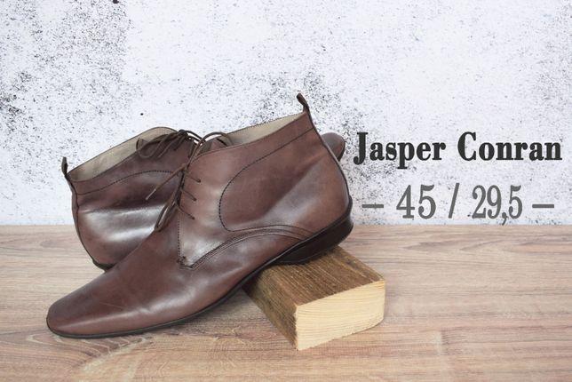 Ботинки дезерты jasper conran кожаные осенние
