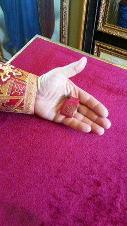 Мощевик с частицей святого  Спиридона Тримифунтского.