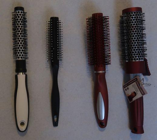 zestaw 4 szczotek do włosów
