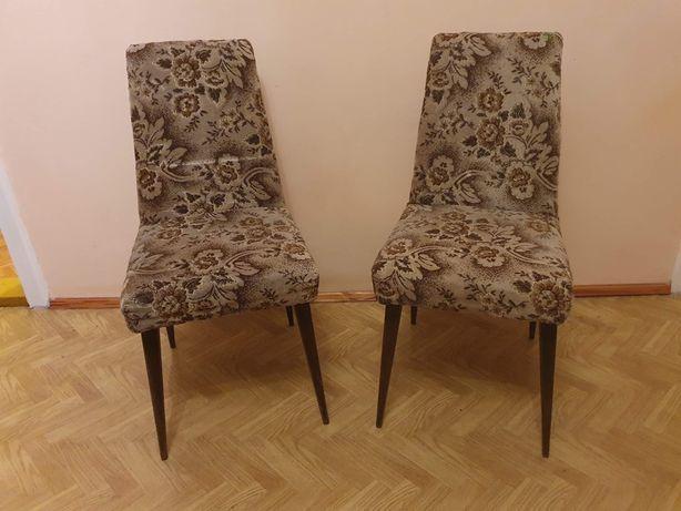 Fotele Aga Leśniewski Stan BDB prl vintage