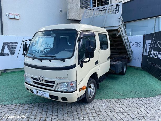 Toyota Dyna 35/33 C.Dupla Tri Basculante C/Nova A/C