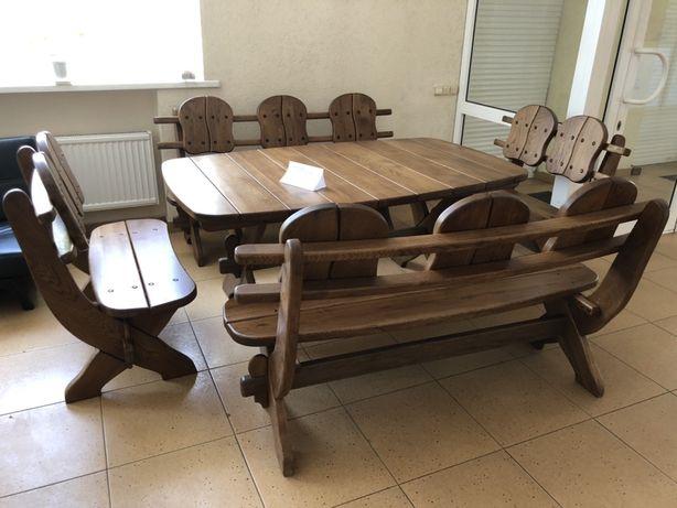 Продам комплект дубових меблів 30000грн