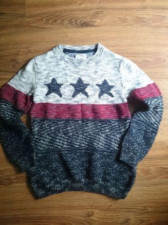 Sweter chłopięcy rozmiar 128 cm