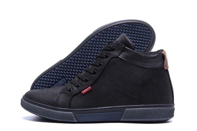 Мужские зимние ботинки Levis, Tommy Hilfiger из натуральной кожи