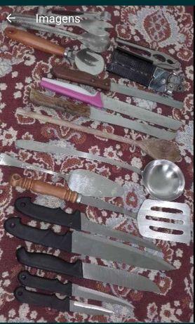 Talheres e utensílios de cozinha
