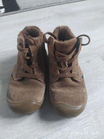 Skórzane buty buciki jesień chłopiec rozm. 24