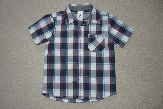 koszula r.116 firmy C&A w kratkę elegancka jak Nowa