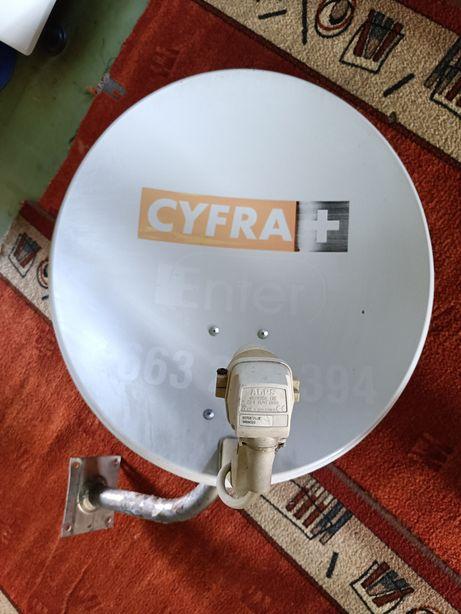 Sprzedam antenę satelitarną z cyfra Plus