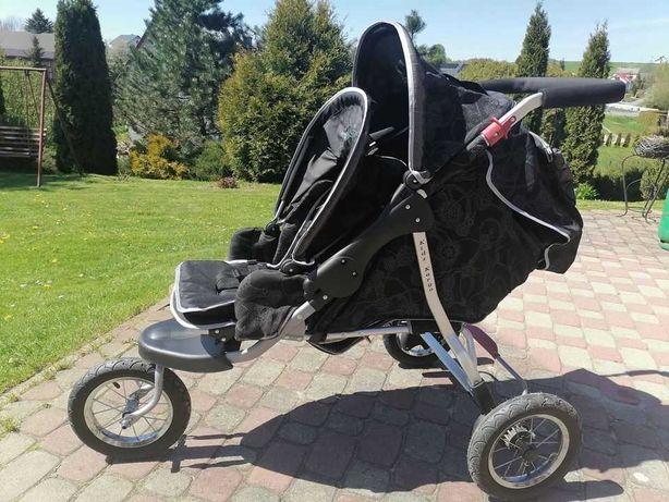 Podwójny wózek Kids Kargo