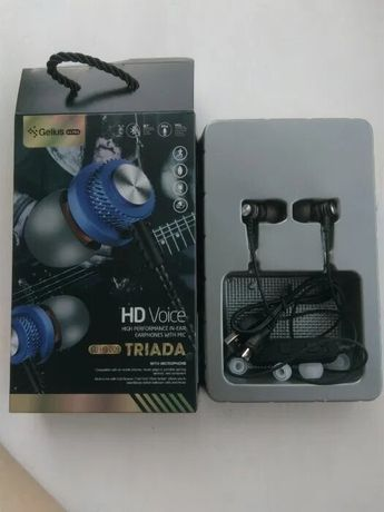 Наушники Bluetooth. Gelius Ultra Triada GL-HB-010U. microSD.