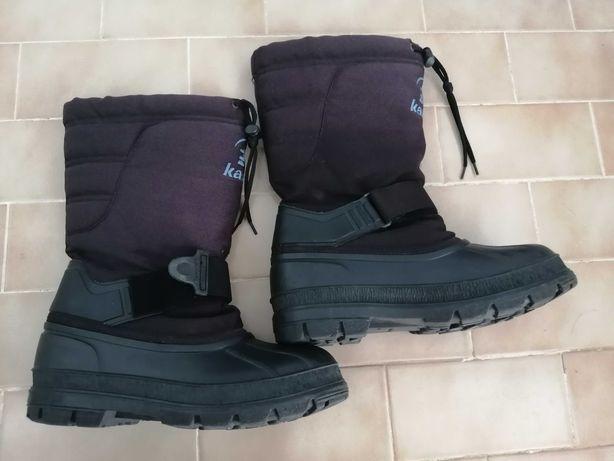 Botas para neve 43 - usadas em bom estado