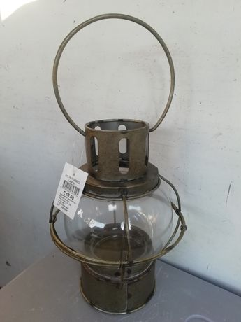 Lampion metal szkło - SUPER CENA