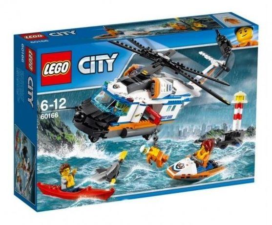 Конструктор Lego City Лего Сверхмощный спасательный вертолёт!