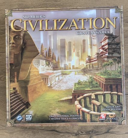 CIVILIZATION gra planszowa gry planszowe gra karciana wymienię