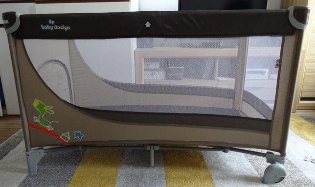 Łóżeczko turystyczne Baby Design Simple 120x60cm