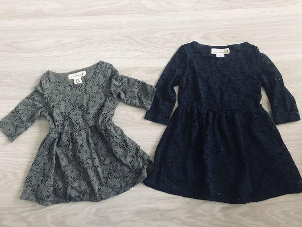 Sukienki koronkowe H&M rozm 92 i 98/104