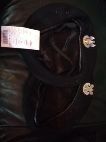 Nowy beret marynarski 418/MON + gratis