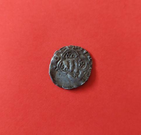 Монета срібна квартник Владислава Опольського
