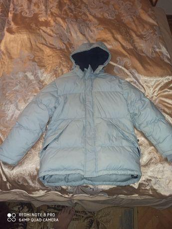 Продам куртку пуховик на натуральном пуху на 14 лет