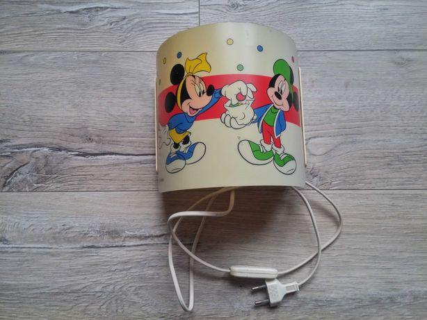 Lampka dziecięca do pokoju dziecka lampa Myszka Mickey