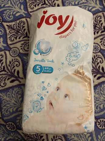 Памперс Joy 5 junior 11-25 кг 150грн