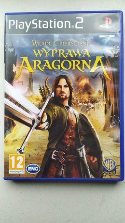 UNIKAT Lord of The Rings PL Władca Pierścieni Wyprawa Aragona / PS2 /