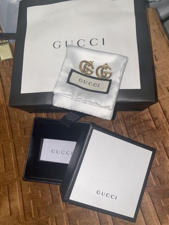 Крутые серьги Gucci оригинал !