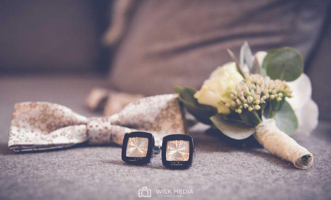 Spinki do mankietów ślubne