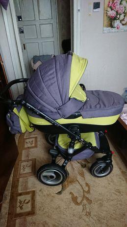 Продам детскую коляску riko brano 2 в 1, в хорошем состоянии