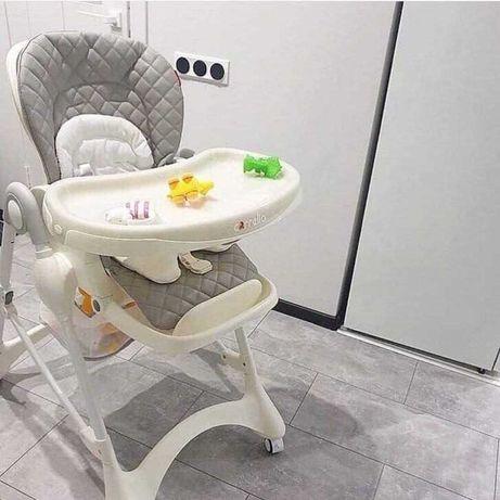 Современный детский стульчик для кормления Carrello Toffee
