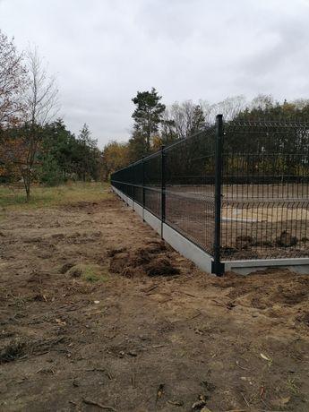 Montaż ogrodzeń panelowych, ogrodzenia panelowe, ogrodzenia.