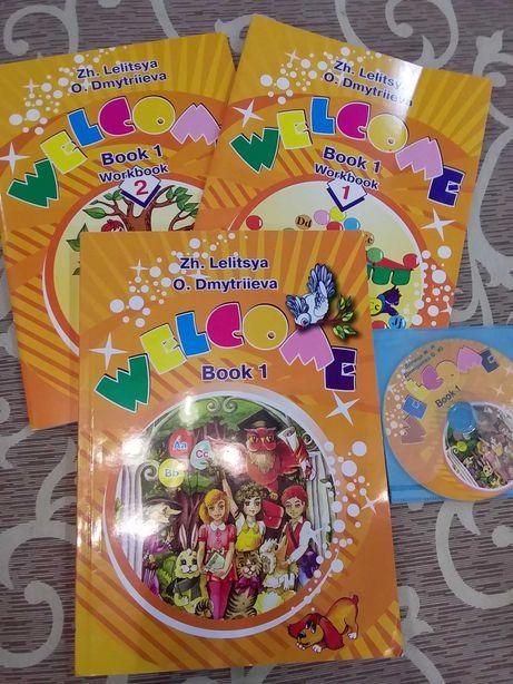 Продам книгу, тетради и диск по английскому