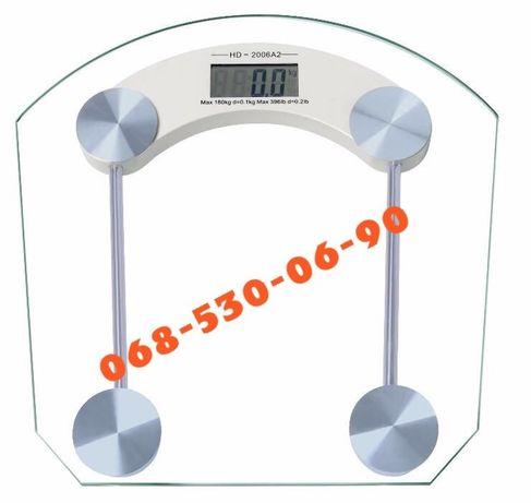 Весы напольные стеклянные электронные 180 кг Matrix ваги