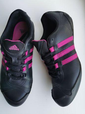 """Кожаные кроссовки, кеды """"Adidas"""" (оригинал)"""