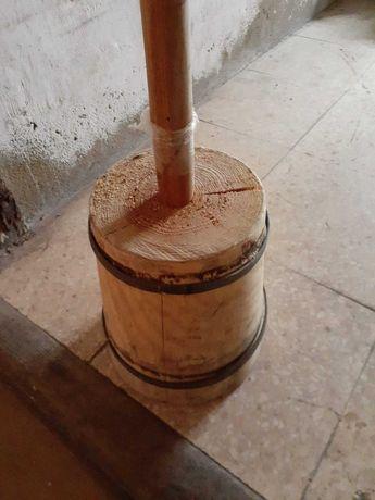 Maço de madeira para calçada