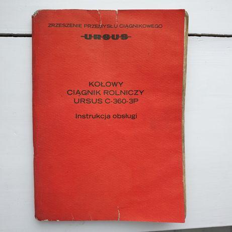 Instrukcja obsługi Ursus C-360-3P