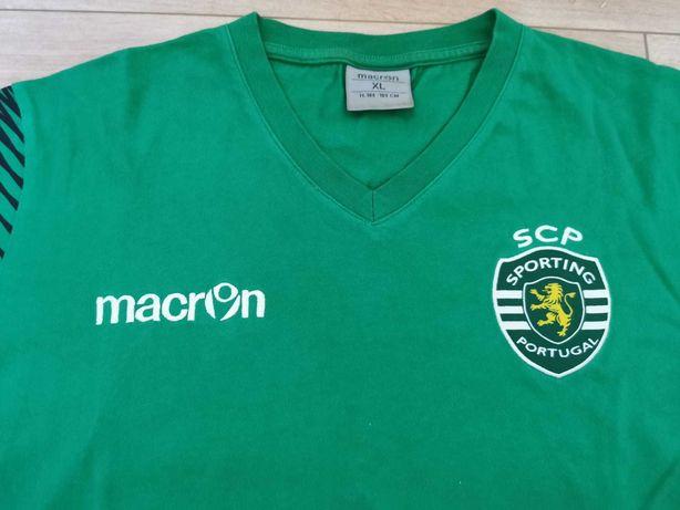 T-shirt Sporting Macron