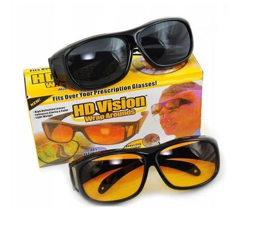 Okulary HD dla kierowców do jazdy w dzień i nocą