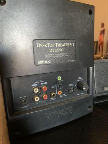 Sistema de som 5.1 Desktop Theater