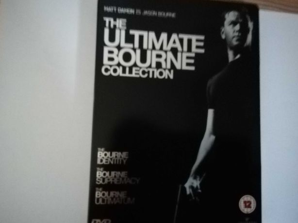 The ultimate bourne collection dvd