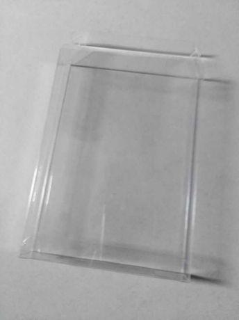 Plástico protetor para caixa jogos megadrive ou master system