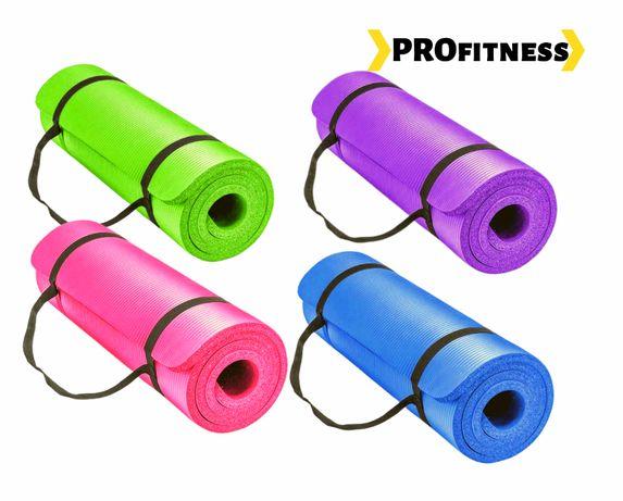 MATA DO YOGI ĆWICZEŃ treningu do joga mata treningowa siłownia GRATIS