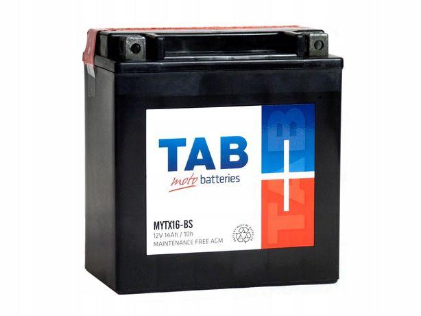 Akumulator motocyklowy Tab 12V/14Ah Ytx16-bs