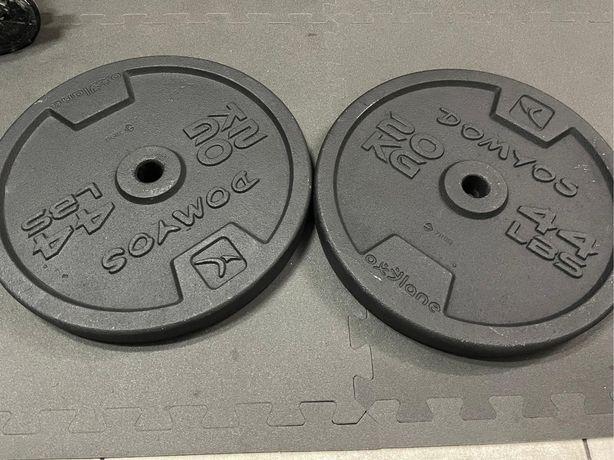 2 Discos / Pesos de 20kg