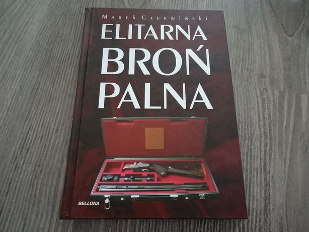 Elitarna Broń Palna Marek Czerwiński - książka NOWA!2 filmy DVD gratis