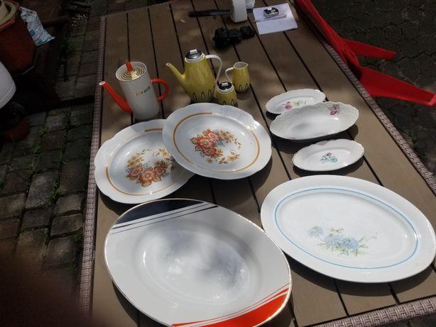 Набор больших столовых блюд тарелок посуды СССР