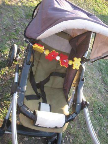 Wózek dziecięcy , fotelik samochodowy chico -zabawki gratis