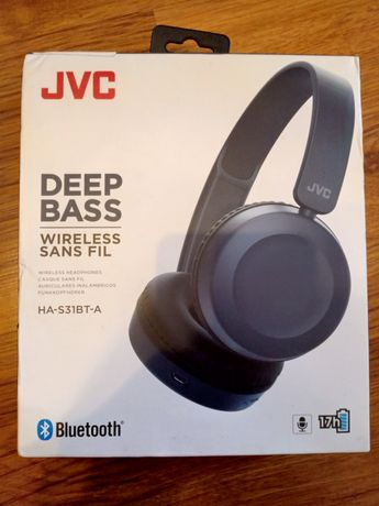NOWE słuchawki jvc ha-s31bt-a