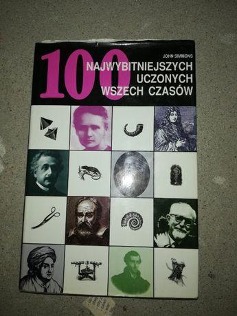 !!OKAZJA!!!100 Najwybitniejszych uczonych wszech czasów